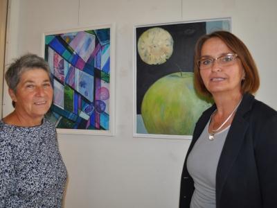 Barbara Bulander und Martha Chavillier (v. l. n r.)