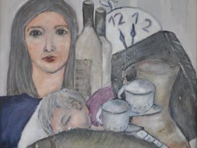 Mutter und Kind von Martha Chavillier
