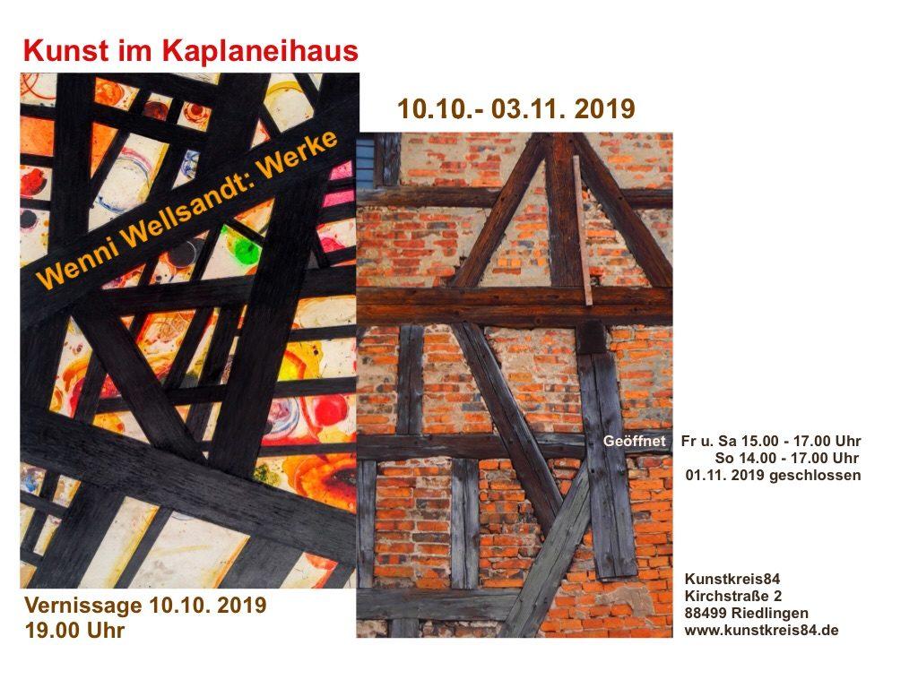 Werner Wellsandt, Reutlingen: Neue Malerei